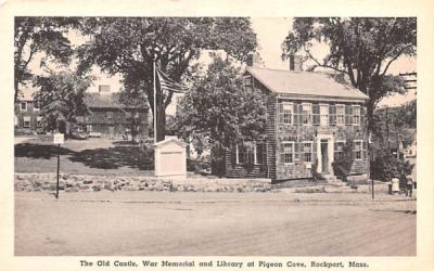 The Old Castle Rockport, Massachusetts Postcard