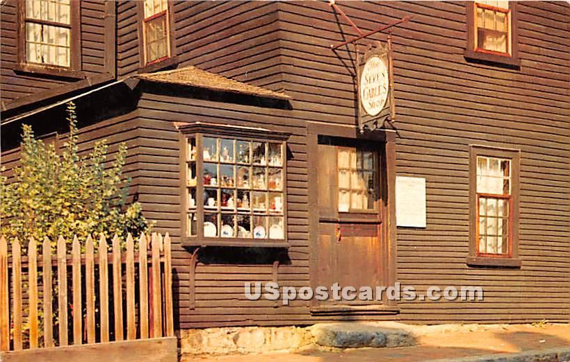 Seven Gables Gift Shop - Salem, Massachusetts MA Postcard