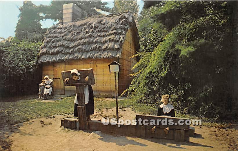 Thatched Cottage - Salem, Massachusetts MA Postcard