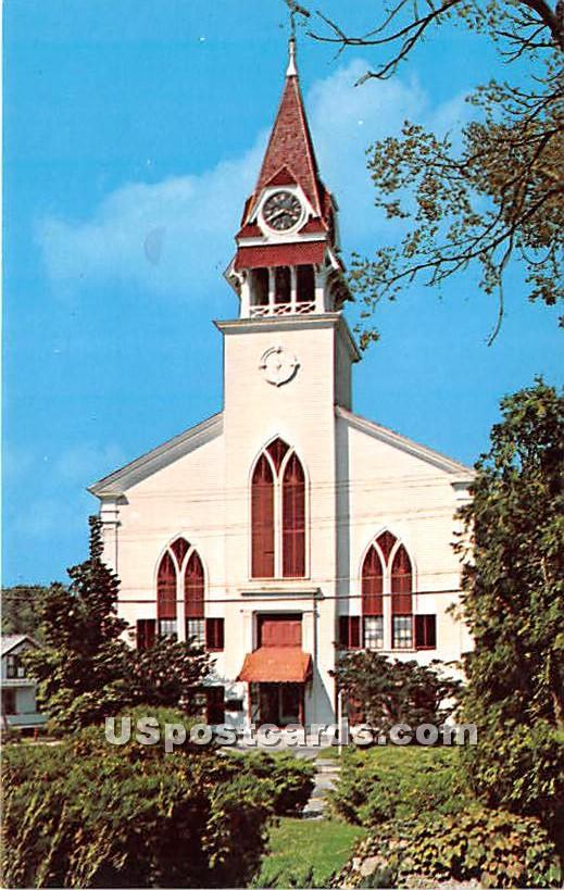 First Parish Meeting House - Sandwich, Massachusetts MA Postcard