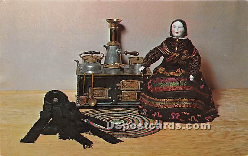 China Head Doll - Sandwich, Massachusetts MA Postcard