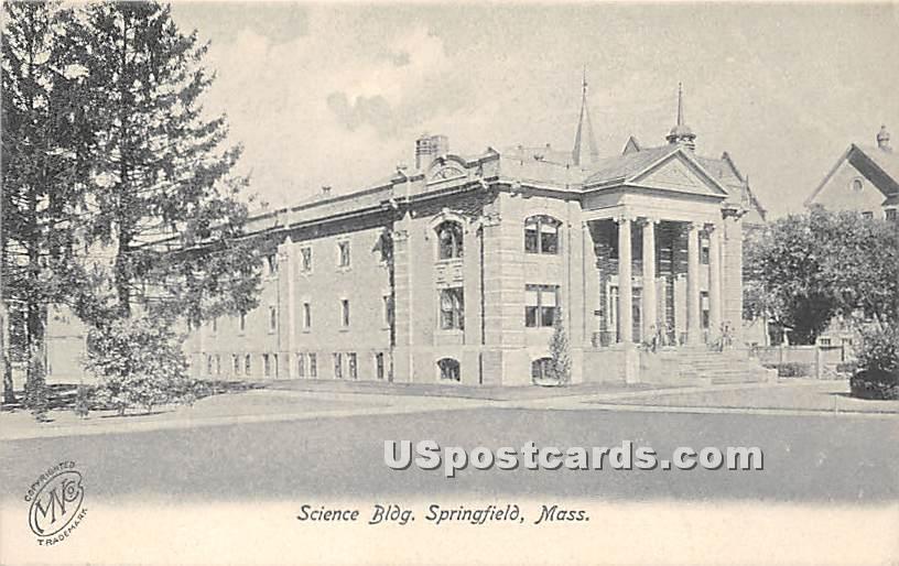 Science Building - Springfield, Massachusetts MA Postcard