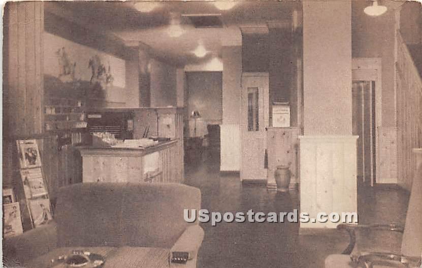 Hotel Springfield - Massachusetts MA Postcard