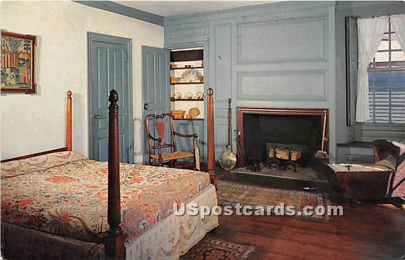 Southeast Bedchamber at Derby House 1761-62 - Salem, Massachusetts MA Postcard