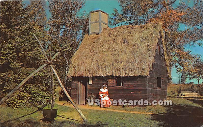 Pioneer Village built in 1930 - Salem, Massachusetts MA Postcard