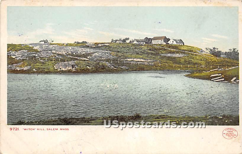 Witch Hill - Salem, Massachusetts MA Postcard