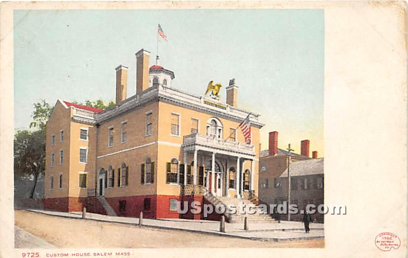 Custom House - Salem, Massachusetts MA Postcard