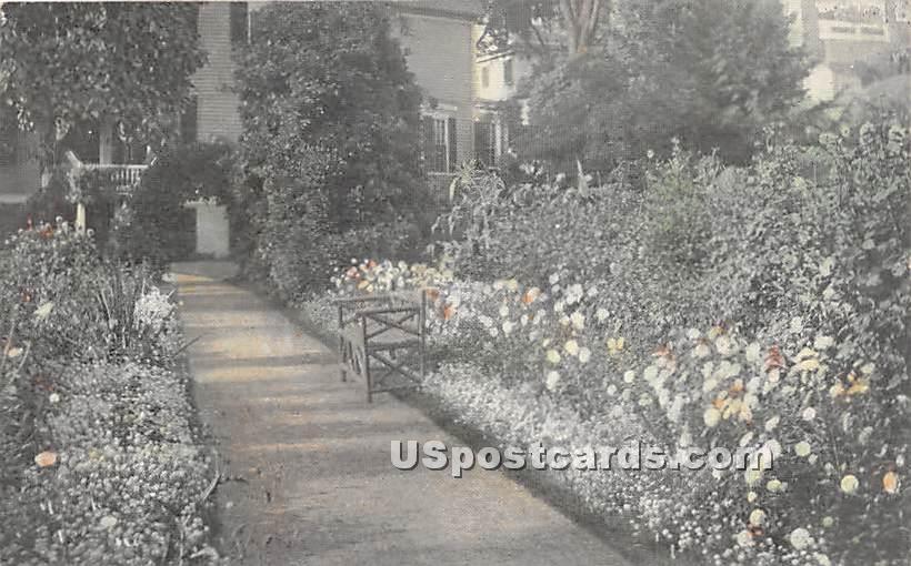 Old Gardens - Salem, Massachusetts MA Postcard