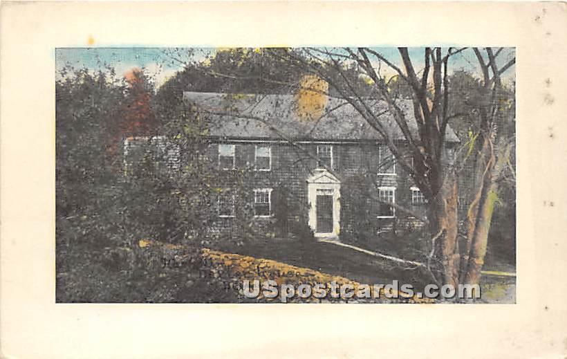 Building - Salem, Massachusetts MA Postcard