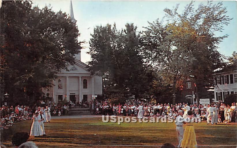 Storrowton on Eastern States Fair Grounds - Springfield, Massachusetts MA Postcard