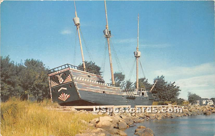 The Arbella Governor Winthrop's Flagship - Salem, Massachusetts MA Postcard