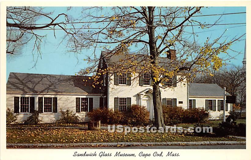 Sandwich Glass Museum - Massachusetts MA Postcard