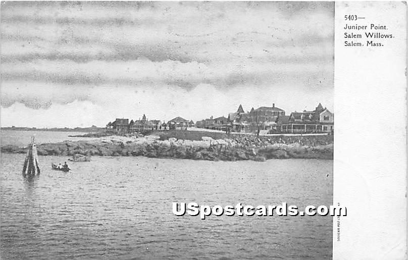 Juiper Point - Salem, Massachusetts MA Postcard
