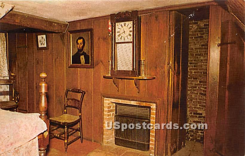 Clifford's Room at House of Seven Gables - Salem, Massachusetts MA Postcard