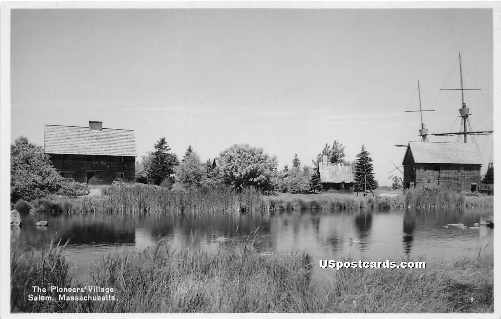 Pioneers' Village - Salem, Massachusetts MA Postcard