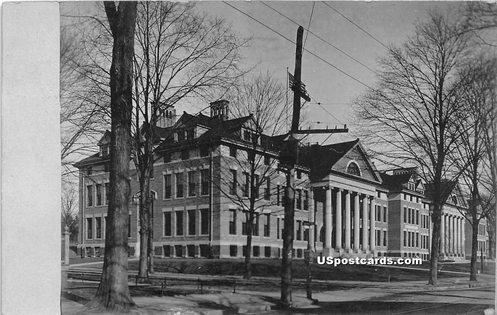 Big Building - Springfield, Massachusetts MA Postcard