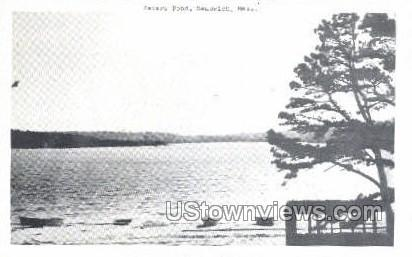 Peters Pond - Sandwich, Massachusetts MA Postcard
