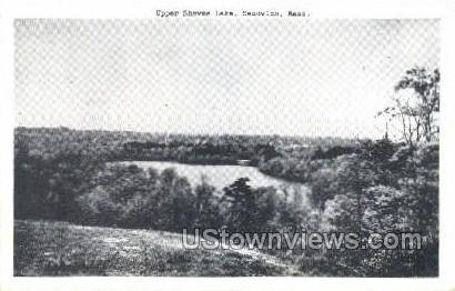 Upper Shawme Lake - Sandwich, Massachusetts MA Postcard