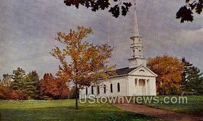 Martha Mary Chapel - South Sudbury, Massachusetts MA Postcard