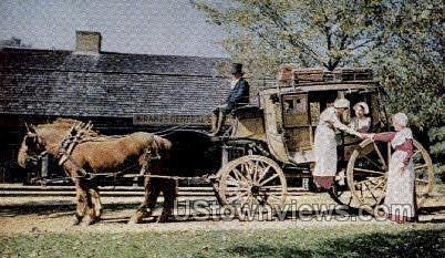 Old Sturbridge Village, MA     ;     Old Sturbridge Village, Massachuetts - Massachusetts MA Postcard
