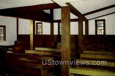 Meeting House, Society of Friends - Old Sturbridge Village, Massachusetts MA Postcard