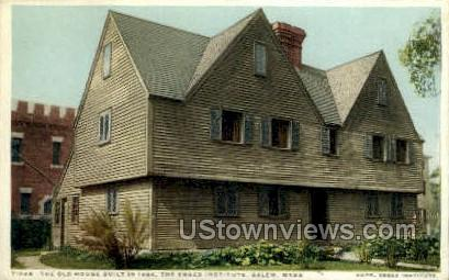 The Old House - Salem, Massachusetts MA Postcard