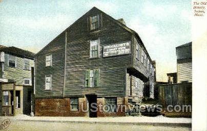 The Old Bakery - Salem, Massachusetts MA Postcard