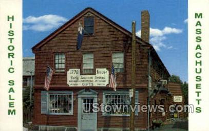 1776 House - Salem, Massachusetts MA Postcard