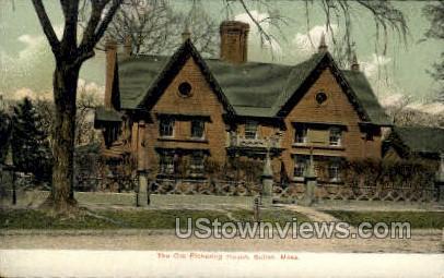 The Old Pickering House - Salem, Massachusetts MA Postcard