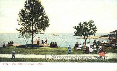 The Willows - Salem, Massachusetts MA Postcard