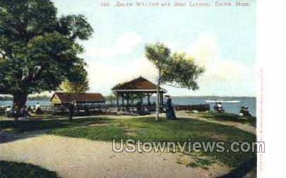 Boat Landing - Salem, Massachusetts MA Postcard