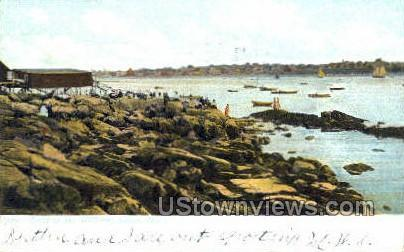 Rocks - Salem, Massachusetts MA Postcard