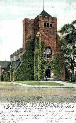 St. Stephens Church - Pittsfield, Massachusetts MA Postcard