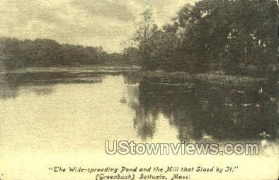Greenbush - Scituate, Massachusetts MA Postcard