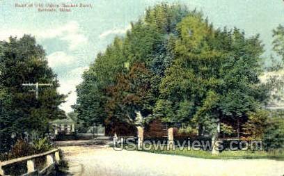 Old Oaken Bucket Pond - Scituate, Massachusetts MA Postcard