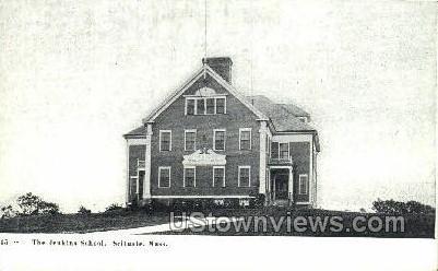 The Jenkins School - Scituate, Massachusetts MA Postcard