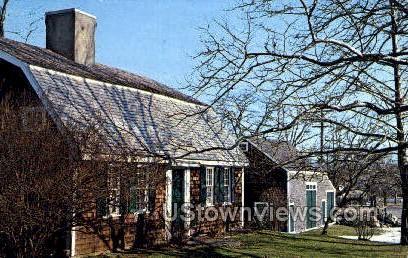Cudworth House - Scituate, Massachusetts MA Postcard