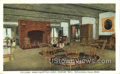 The Lobby - Shelburne Falls, Massachusetts MA Postcard