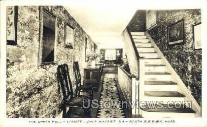The Upper Hall - South Sudbury, Massachusetts MA Postcard