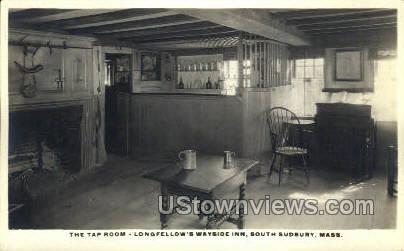 Wayside Inn - South Sudbury, Massachusetts MA Postcard