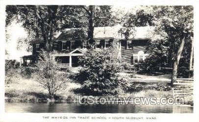 Wayside Inn Trade School - South Sudbury, Massachusetts MA Postcard