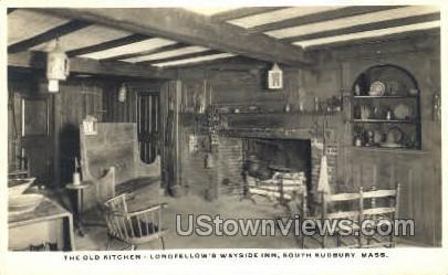 The Old Kitchen, Wayside Inn - South Sudbury, Massachusetts MA Postcard