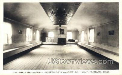 The Small Ball Room - South Sudbury, Massachusetts MA Postcard