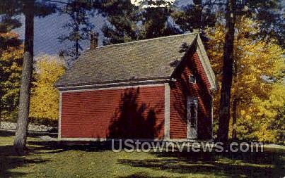 Mary Lamb School, Wayside Inn - South Sudbury, Massachusetts MA Postcard