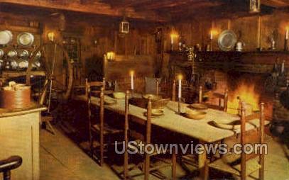 The Old Kitchen - South Sudbury, Massachusetts MA Postcard