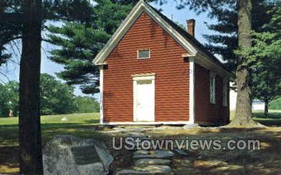 Mary Lamb School - South Sudbury, Massachusetts MA Postcard