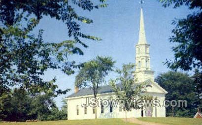 Martha Mary Church - South Sudbury, Massachusetts MA Postcard