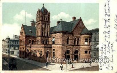 Federal Building - Springfield, Massachusetts MA Postcard