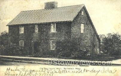 Old Day House - Springfield, Massachusetts MA Postcard
