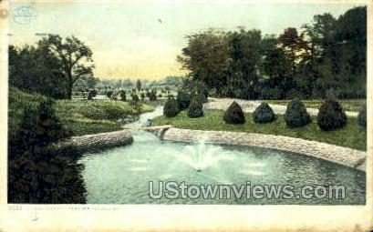Forest Park - Springfield, Massachusetts MA Postcard